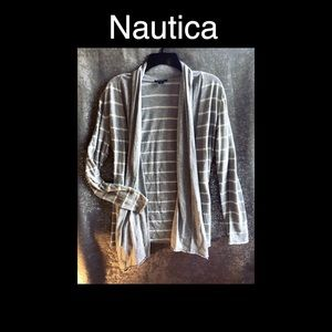 Cute Cream Nautica Cover Up Size Medium